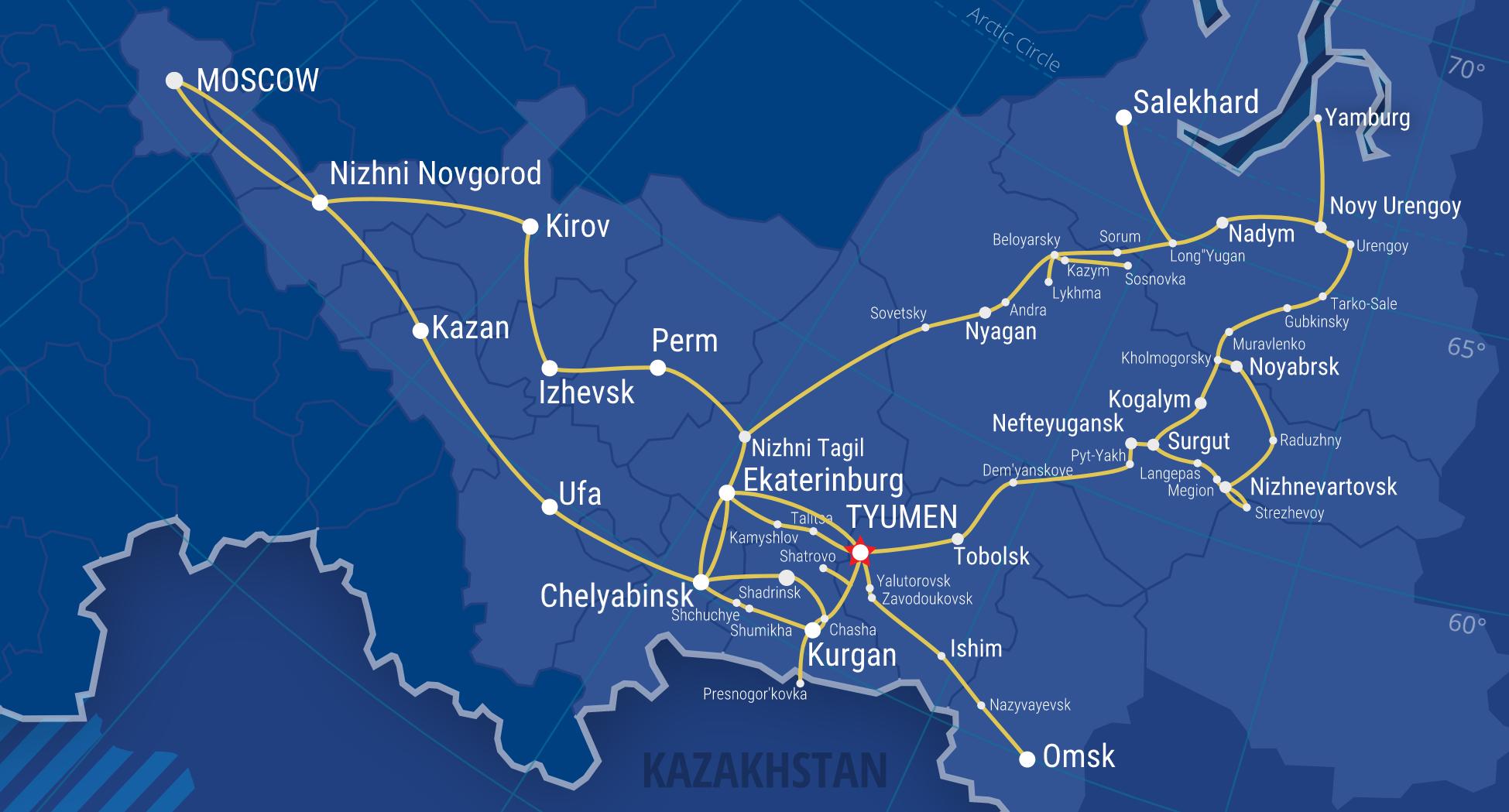 Network map Zummer ltd